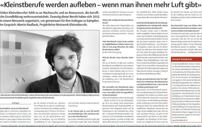 thumbnail of Interview Einsteiger_Berner Zeitung20161224